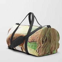 deer in the woods Duffle Bag