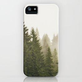 The Mist iPhone Case