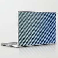 stripes Laptop & iPad Skins featuring Stripes by David Zydd