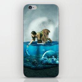 The lost Aquarium iPhone Skin