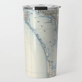 Vintage Map of San Diego California (1902) Travel Mug