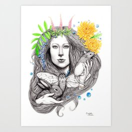 Finding Destiny Art Print