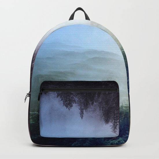 flipped forest Backpack