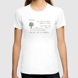 Behold! My Field of Fucks! (Mature) T-shirt