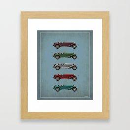 Five Alfa's Framed Art Print