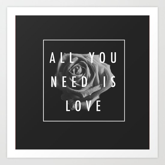 Needy Art Print
