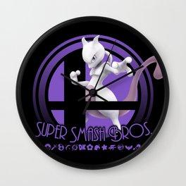 Mewtwo - Super Smash Bros. Wall Clock