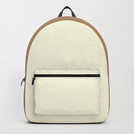 Vanilla / Ice Coffee Gradient Colors Backpack