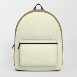 Vanilla / Ice Coffee Gradient Colors Backpack