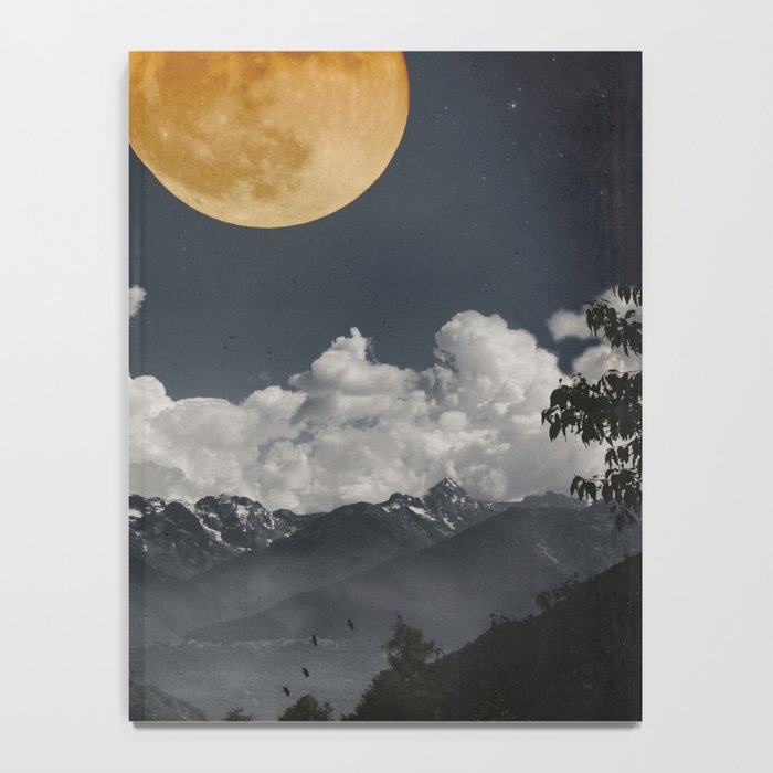 Moon Melodies Notebook