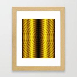 Golden leggings Framed Art Print