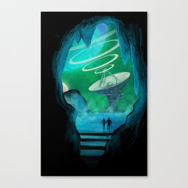 Expansion Volume IV Poster Canvas Print
