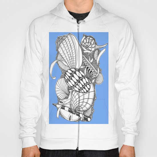 Gifts from the Sea Zentangle Style Hoody