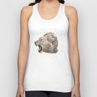 leo Tank Tops featuring Leo by dogooder