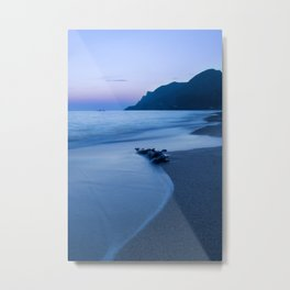 Sunset coast Metal Print
