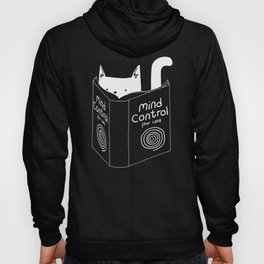 Mind Control For Cats (dark blue) Hoody