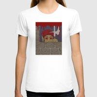 kindle T-shirts featuring Peeking Redcap by Richard Fay