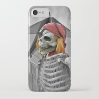 scary iPhone & iPod Cases featuring scary by mayrarosito