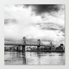 Queensboro Bridge. Canvas Print