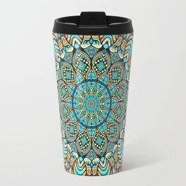Zentangle Mandala 180218 - Bohemian Mandala Travel Mug
