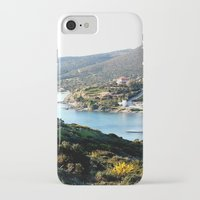 greece iPhone & iPod Cases featuring Greece by Chiara