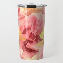 Summer Day Floral Travel Mug
