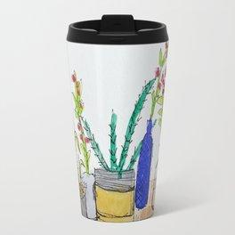 Plants on a Shelf Travel Mug