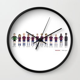 Barcelona - All-time squad Wall Clock