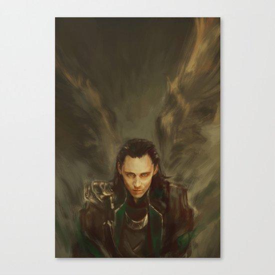 Descension Canvas Print