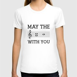 May the 4th be with you (light colors) T-shirt
