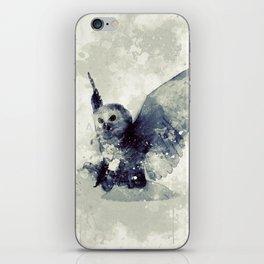 Cute owl iPhone Skin
