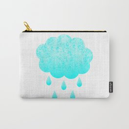 Cloud and randrops Carry-All Pouch