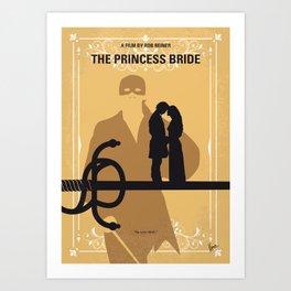 No877 My The princess bride minimal movie poster Art Print
