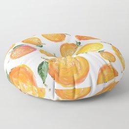 Rome Forest Oranges Floor Pillow