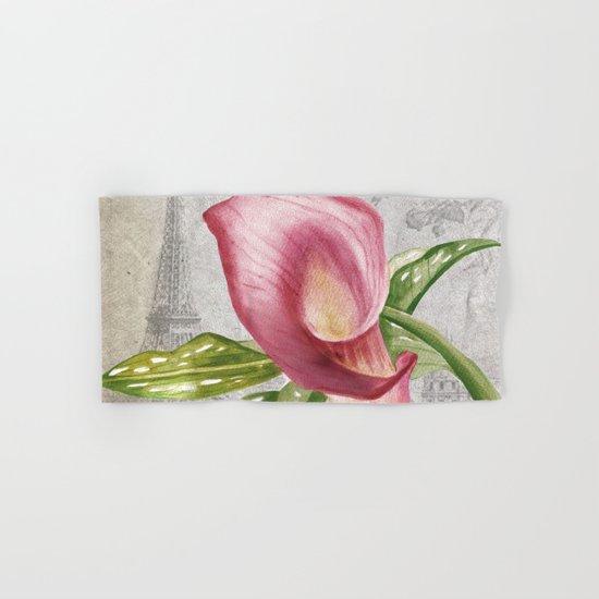 Macro Flower #4 Hand & Bath Towel