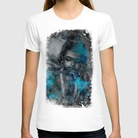 hindu T-shirts featuring Krishna The mischievous one - The Hindu God by sarvesh