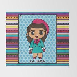 La Dama Throw Blanket