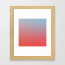 ALL GOOD THINGS - Minimal Plain Soft Mood Color Blend Prints Framed Art Print