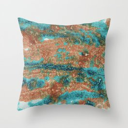 Abstract Painting 3 Landscape Throw Pillow