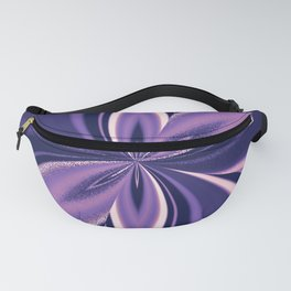 Asexual Spectrum Pride Pinched Petal Ripples Fanny Pack