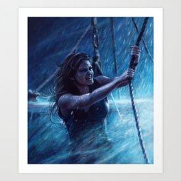 Captain Emma Swan Art Print