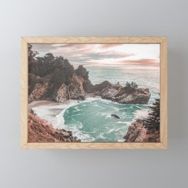 Big Sur California Framed Mini Art Print