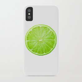 LOVE LIME iPhone Case
