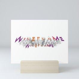 Wireframe Mini Art Print