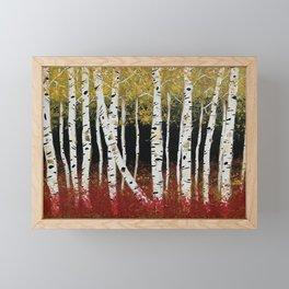 Fall Aspens Framed Mini Art Print