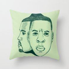 Watch The Throne II Throw Pillow