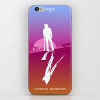 hotline miami iPhone & iPod Skins featuring Enjoy The Violence - Hotline Miami 2 Minimalist Poster 2 by Marco Mottura - Mdk7