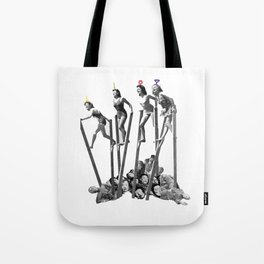 //knowledge is suffering// Tote Bag
