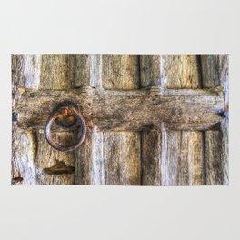 Ancient Church Door Rug