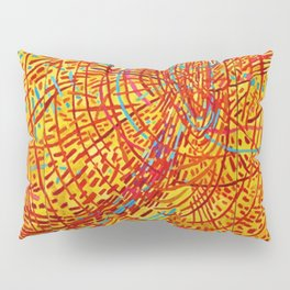 African American Masterpiece 'Magnetic Fields' by Mildred Thompson Pillow Sham